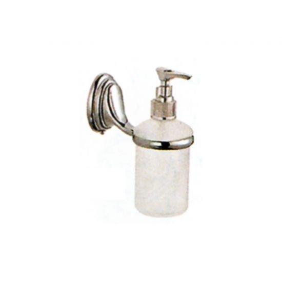 Дозатор для жидкого мыла LEMEN GA-1408 (матовое стекло)
